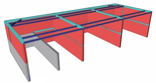 Výpočtový model nového objektu